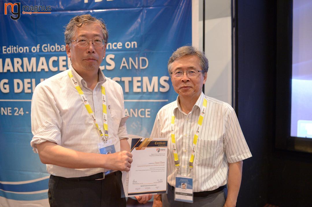 Speaker for Biotechnology conferences Europe 2020-Satoshi Nakata