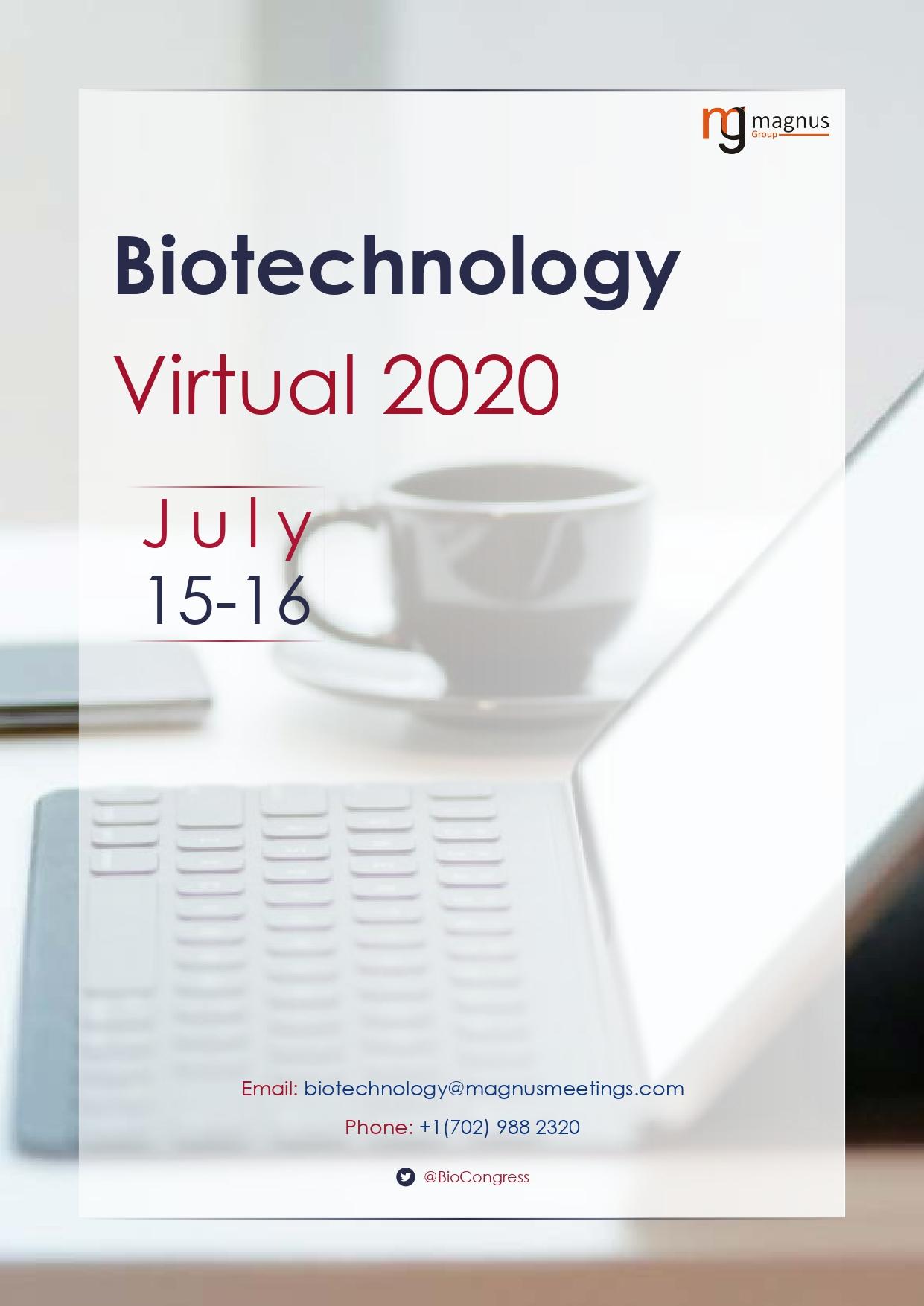 1st Edition of International Webinar on Biotechnology and Bioenginering | Online Event Book